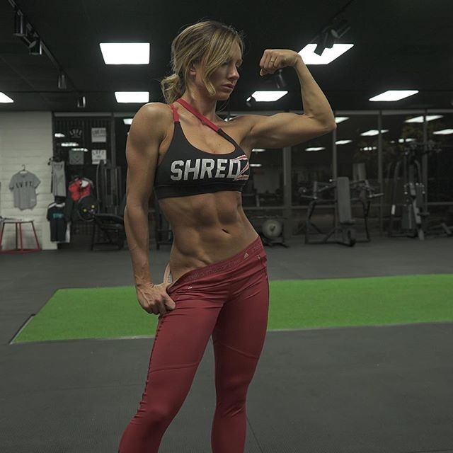 Fitness girl Paige Hathaway