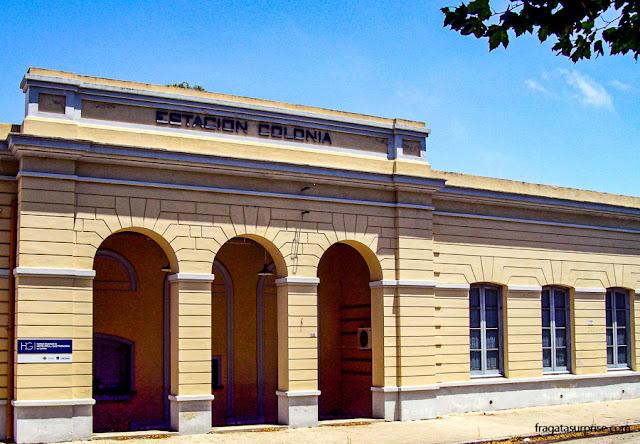 Estação Ferroviária de Colonia del Sacramento, Uruguai