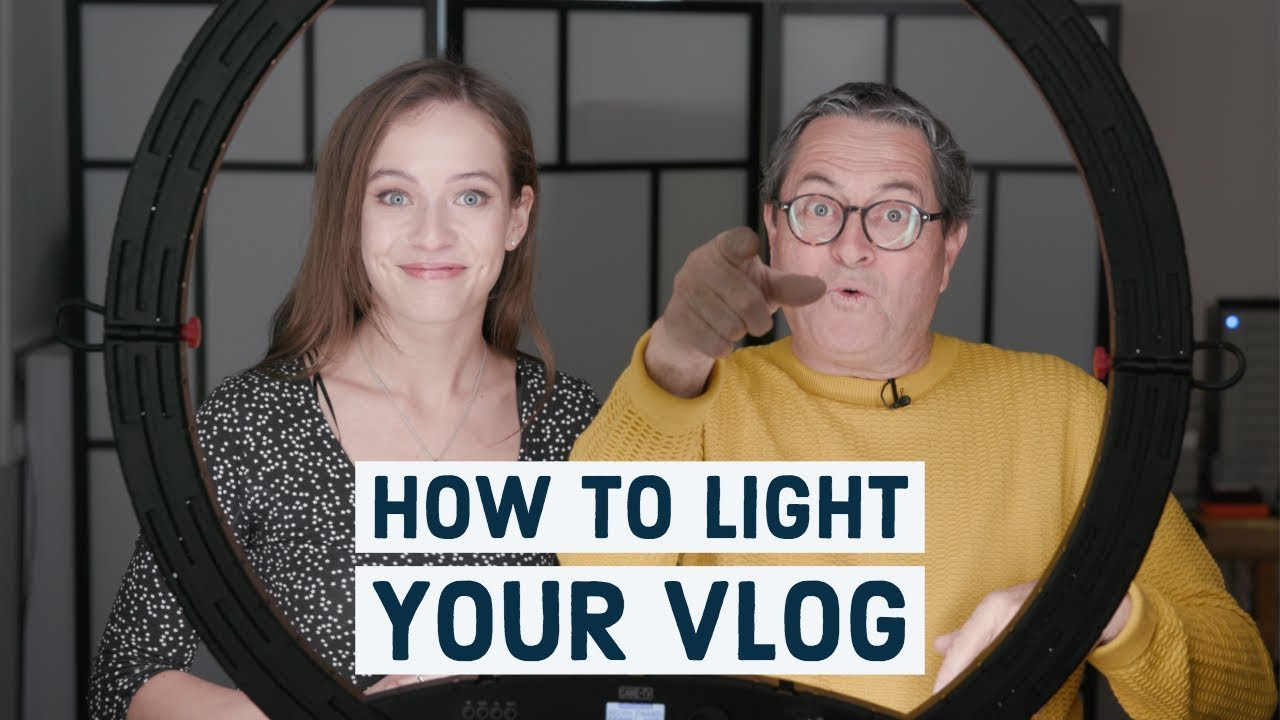 How to Light your Vlog