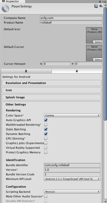 Open Source For Geeks: Setting up Unity platform to build