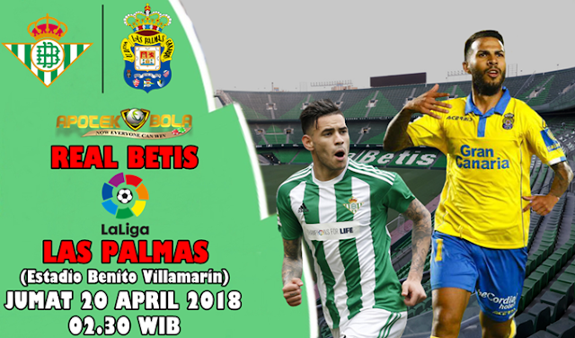 Prediksi Real Betis vs Las Palmas 20 April 2018