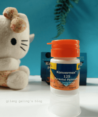 Konvermex 125 Suspensi rasa Jeruk untuk Anak