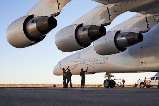 दुनिया के सबसे बड़ा विमान स्ट्रैटोलांच