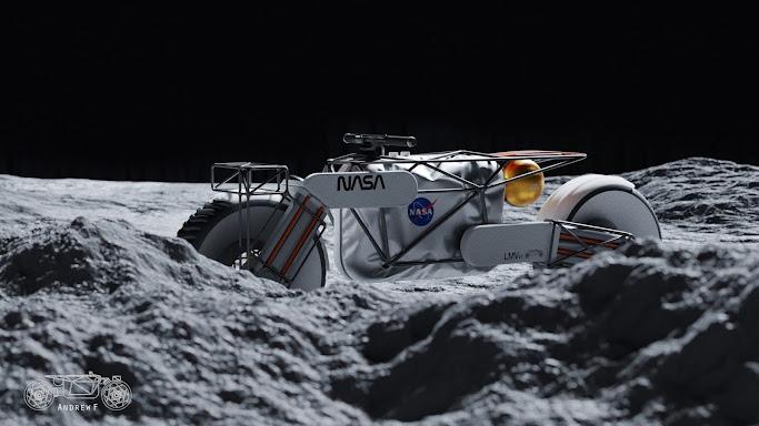Andrew Fabishevskiy - NASA Motorcycle Concept
