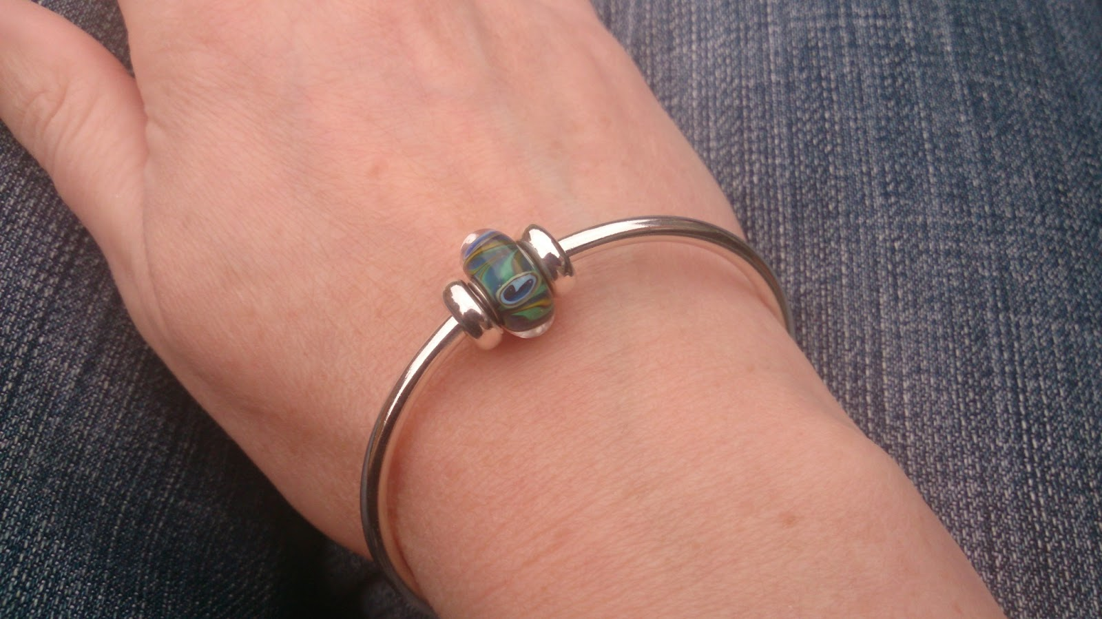 Finally I Have A Pea And Wasted No Time The Following Day To Showcase This On My Bangle 9