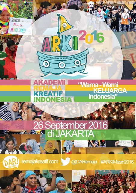 Lomba Cerpen, Cipta Syair dan Cipta Komik Bersama Akademi Remaja Kreatif Indonesia (ARKI) 2016