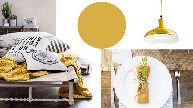 color pantone otoño spicy mustard