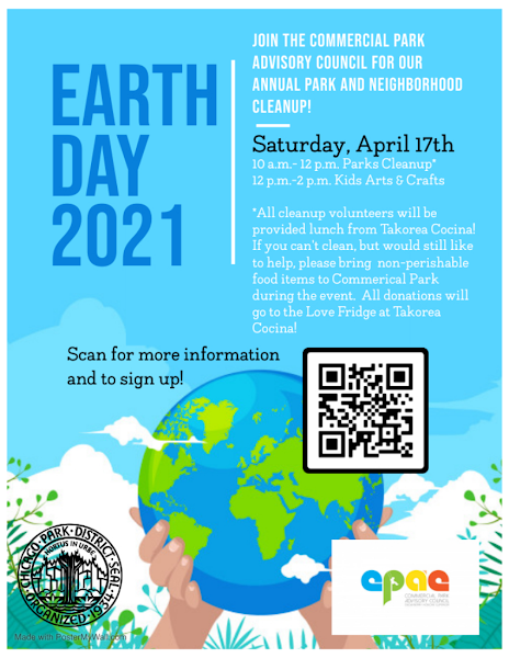 Earth Day 2021 poster