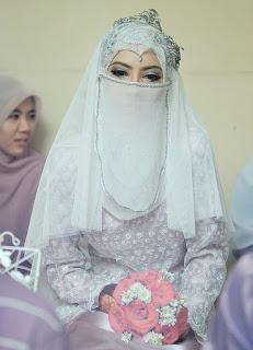 Baju Pernikahan Bercadar Tulisanviral Info