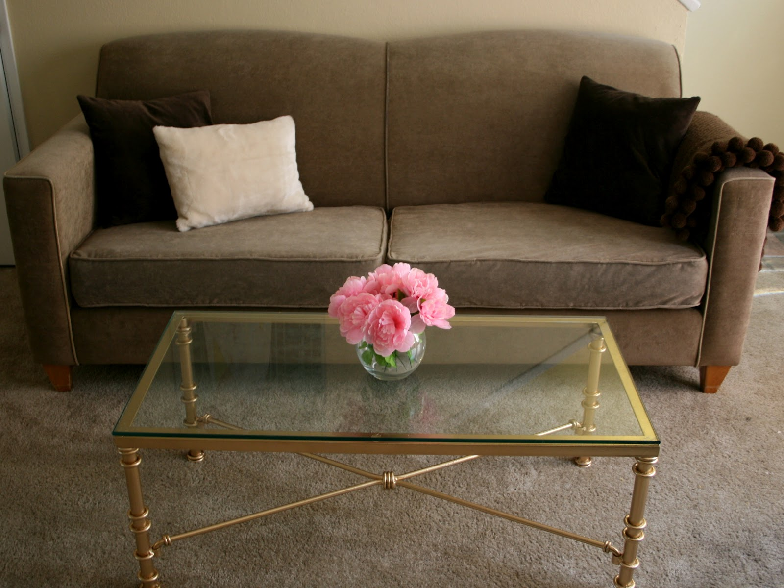 Ugly Metal Coffee Table Makeover Success Create Enjoy