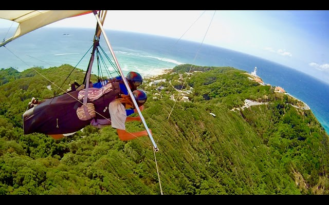 Hang Gliding in Byron Bay