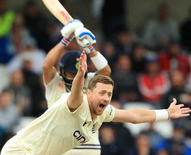 इंग्लैंड ने भारत को पारी और 76 रन से हराया, अब सीरीज में 1-1 की बराबरी