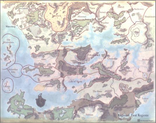 Gish's Repository: DnD Forgotten Realms description