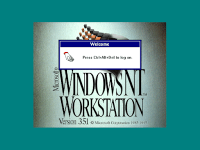 Windows NT 3.51 Screen