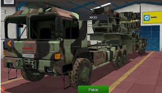Mod Bussid Truk muat Missile