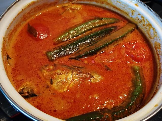 Resepi Kari Ikan Simple dan Sedap