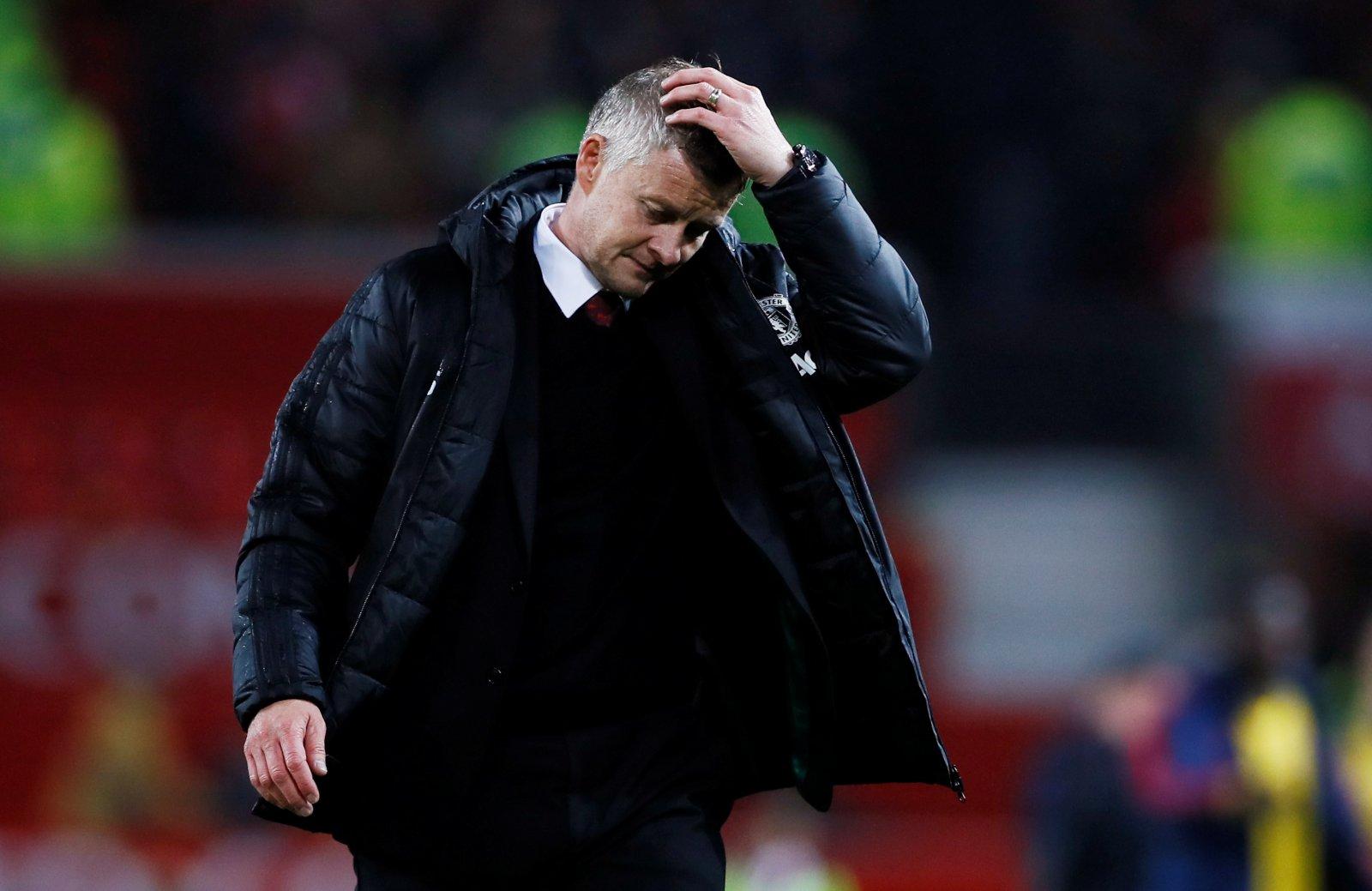 Man United manager Ole Gunnar Solksjkaer