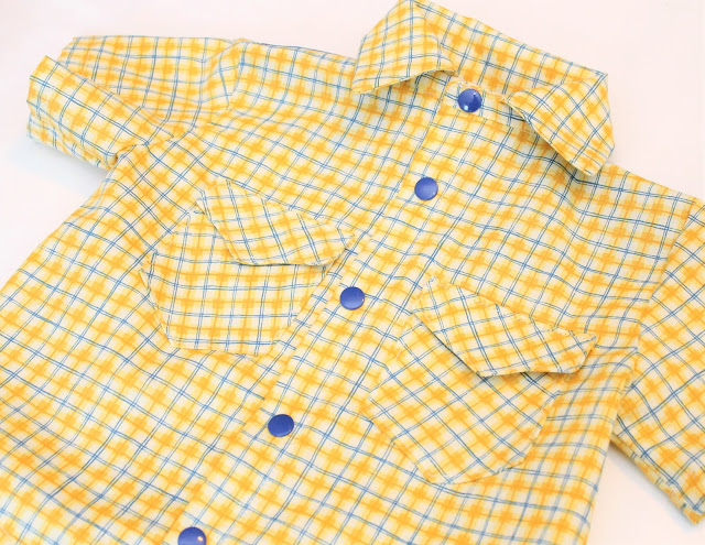 free toddler boy button down shirt pattern