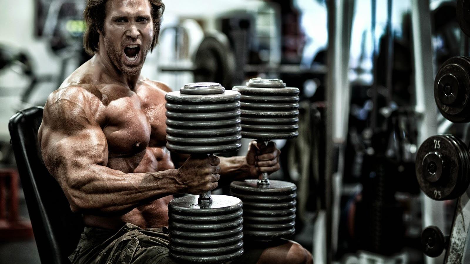 Mike O'Hearn gym workouts