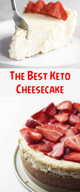 The Best Keto Cheesecake