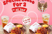 Promo Richeese Factory Special Combo For 2 Mulai Rp.46.364 Periode 14 Februari 2020