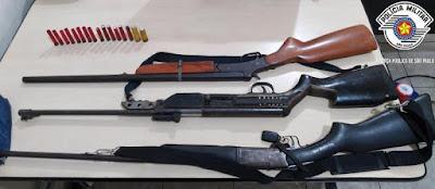 Força Tática tira  quatro armas de fogo das ruas de Registro-SP