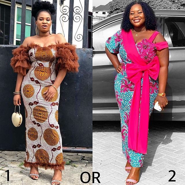 Latest Ankara Long Gown Styles 2019 For Ladies