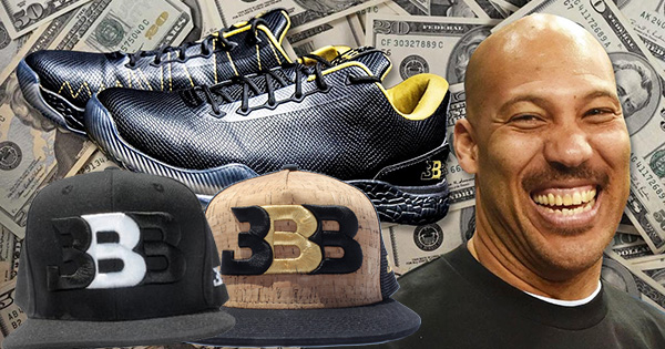 Lavar Ball, founder of Big Baller Brand