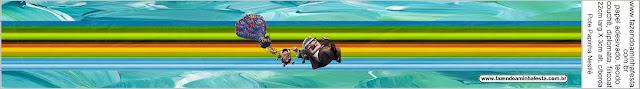 Película de Pixar Up: Etiquetas para Candy Bar para Imprimir Gratis.
