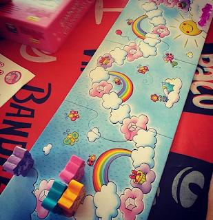 Unicornio Destello de Haba - Einhorn glitzergluck juego de mesa infantil