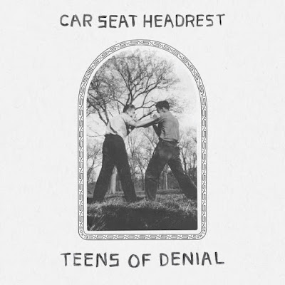 "CAR SEAT HEADREST ""Teens Of Denial"""