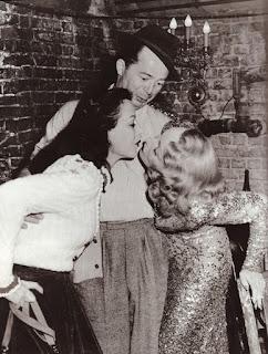 hedy lamarrr, marlena dietrich, billy wilder 1948