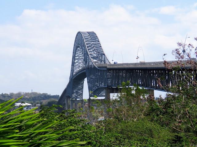 Panama City Layover: Bridge of the Americas