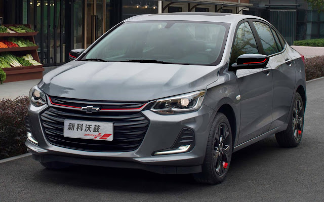 Novo Chevrolet Onix e Prisma 2020
