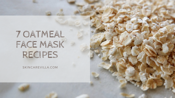 oatmeal facial mask homemade