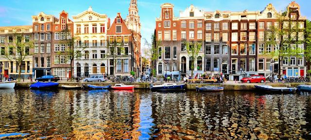 Condições Climáticas em Amsterdã em Julho