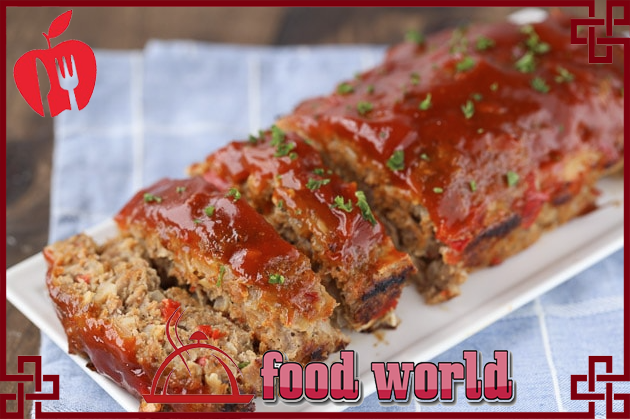 delicious and healthy Meatloaf