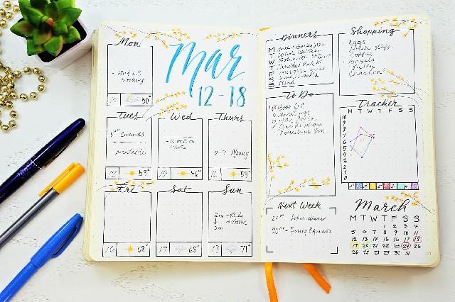 فكرة ملهمة لدفتر يومياتك
