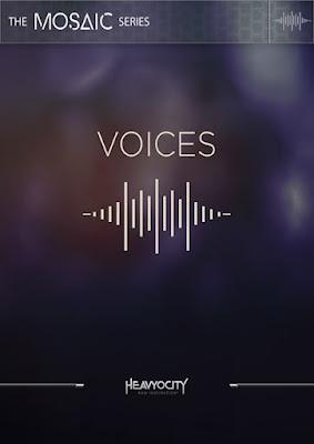 Cover da Library Heavyocity - Mosaic Voices (KONTAKT)