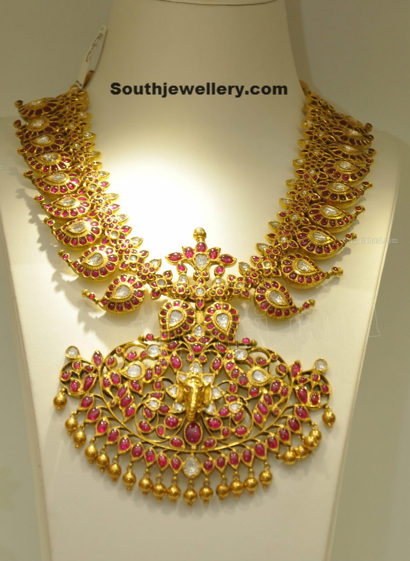 Ruby Mango Mala Jewellery Designs