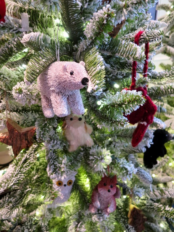 Critter Christmas tree ornaments