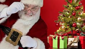 Santa Clause sightings and Christmas