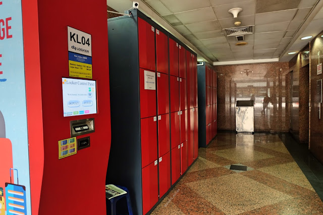 KL Sentral luggage curitan aqalili