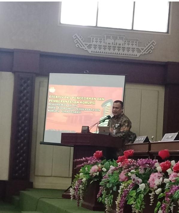 Ketua KPK Serukan Pilkada Bersih di Lampung