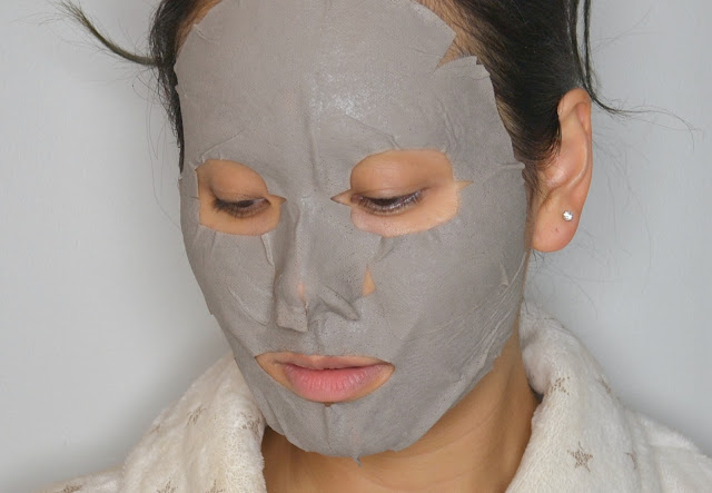 Ultru I'm Sorry for My Skin Black Mud Mask Tightening Review