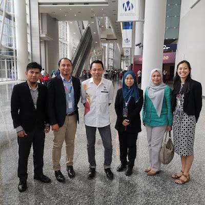 Pengarah Bahagian Sukan, Kokurikulum dan Kesenian, Encik Zainal Abas