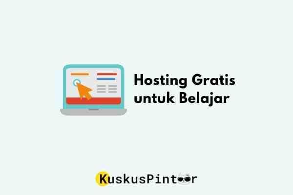 hosting gratis untuk belajar