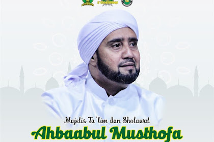 Jadwal  Habib Syeh Ahbabul Musthofa Bulan September 2019