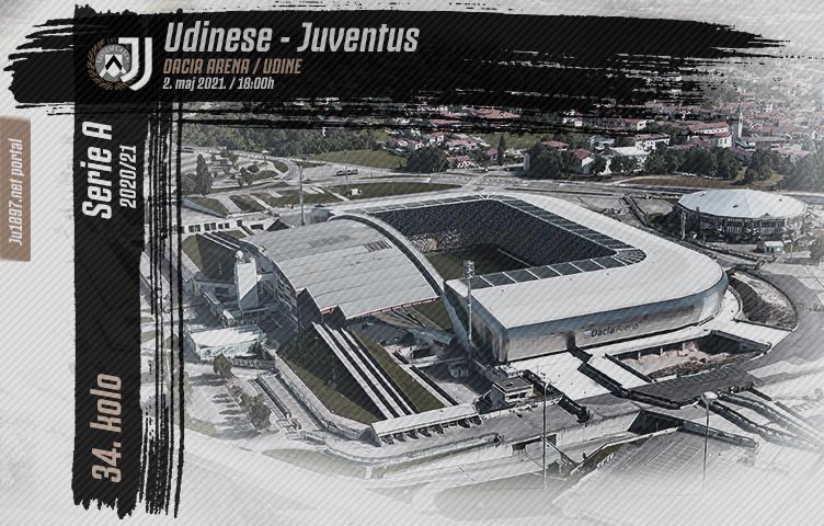 Serie A 2020/21 / 34. kolo / Udinese - Juventus, nedelja, 18:00h