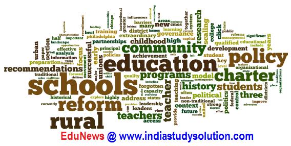 EduNews @ www.indiastudysolution.com